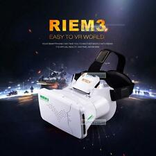 RIEM 3 Virtual Reality VR Headsets 3D New Plastic Video Glasses For iPhone 6 SP