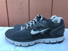 NIKE LUNARGLIDE 2 FLYWIRE GRAY RUNNING US SHOE SIZE WOMEN US 8 407647-013