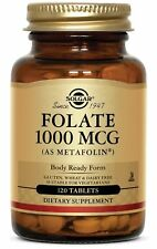 Solgar Folate as Metafolin 1000 mcg 120 Tabs