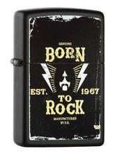 Zippo Lighter ● Born To Rock ● 60000516 ● Neu New OVP ● A44