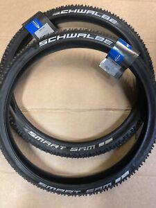 Pair Schwalbe 24 X 2.10 Smart Sam Tyres