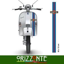 ADESIVO MARTINI Vespa scooter auto moto Striscia scudo Stickers Racing Decal