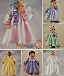 "2000 McCalls Sewing Pattern 2610 10""-20"" Doll Wardrobe 6 Outfits Fashions 7195F"