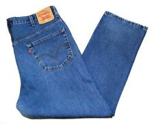 "* Levi's * Mens Vintage 505 Jeans 42""W X 30""L Regular Fit Blue Straight (G398)"