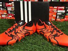 adidas X 15 Primeknit Fg/ag Soccer Cleats Solar Orange / Black Size 8