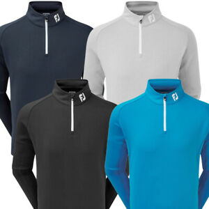 FootJoy Mens Performance Chill-Out Pullover- Athletic Fit
