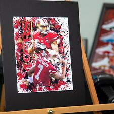 San Francisco 49ers - Colin Kaepernick #7 - American Football Original Posters