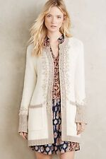 NWT $158 Anthropologie Kaolin Wrap Cardigan LARGE Sweater