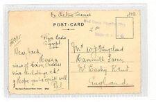 AT194 1915 Cairo Egypt Postcard Kent GB Red Cross Hospital {samwells-covers}PTS