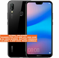 """HUAWEI P20 LITE ANE-LX1 GLOBAL VERSION 4gb 64gb 16mp 5.84"""" Android Smartphone 4g"""
