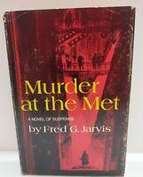 1971 Murder At The Met Fred G. Jarvis Coward-McCann