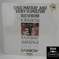 Dave Mackay & Vicky Hamilton – Rainbow 1970 Original lp AS-9198 - Jazz - G