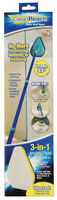 Clean Reach  4 in. W Scrub Pad  Synthetic  Mop Kit