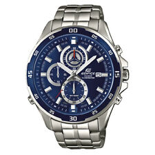 Casio Edifice Silver Watch  EFR-547D-2A EFR547D-2A Mineral Glass New