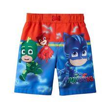 PJ Masks   Catboy/Owlette/Gekko/Romeo/ Luna Toddler Boy Swim Trunks SIZE 3T NWT