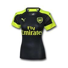 Arsenal Puma Women's 2016/17 S/S 3rd Match Shirt - Small (UK 10) - Navy - New