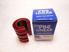 "PBC Linear Pacific Bearing Company FLN10 Standard Linear Bearing 5/8"" ID"