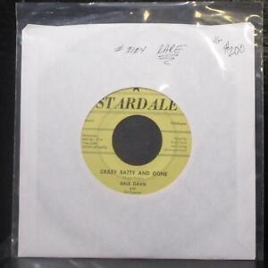 "Dale Davis - Crazy Batty & Gone 7"" VG Rare Vinyl 45 Stardale 0104 USA 1957"