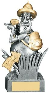 Have a Go Henry In the Rough Golf Trophy Novelty Comic Award - FREE Engraving