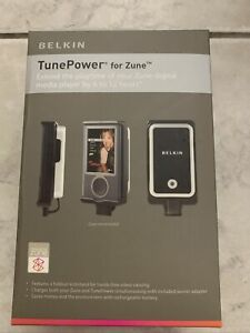 BELKIN TUNEPOWER FOR ZUNE EXTEND PLAYTIME NIB