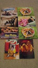 (8) Different Brand New Cute Dog / Puppy Themed Greeting Cards