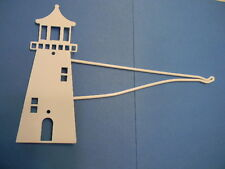 Lighthouse Swivel Plant Hanging Bracket Wall Mount Hook Garden Bird Feeder White