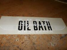 1954 FORD OIL BATH AIR CLEANER SPECIAL FRONT AIR CLEANER DECAL STICKER NEW CORRE