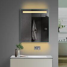 LED Badspiegel Badezimmerspiegel Wandspiegel Kaltweiß / Warmweiß Steckdose Tsl60