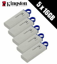 5 x KINGSTON TECHNOLOGY 16 Go DataTraveler Clé USB 3.0 disques durs (Conditionnement multiple de 5 x DTIG 4