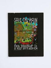 Save the Rain by Friedensreich Hundertwasser 1983 Swiss Edition Art Print