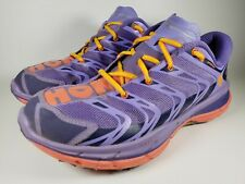 Hoka One One Womens Speedgoat Size 10 M Trail Running Shoes Sneakers Purple