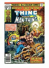Marvel Two-In-One No 43 Sep 1978 (VFN+) Thing & Man-Thing, Cosmic Cube