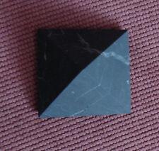Shungite Unpolished Pyramid 30 mm Healing Protection Schungite Karelia Russia