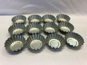 Fox Run Deep Tart Tin, Tin-Plated Steel, 3.5-Inch (Lot of 12)