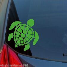 Turtle vinyl sticker decal shell Hawaiian honu Polynesian Tonga Fiji Tahiti Maui