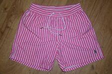 Polo Ralph Lauren Pink Stripe Swim Shorts Size S Excellent