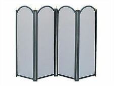 Manor Reproductions Dynasty 4 Fold Screen Black 640 X 840mm 1771