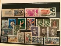 Tunisia mixed stamps  R21689