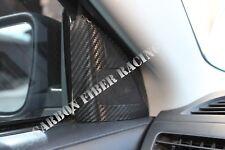 Mitsubishi Lancer Evo X Tweeter Speaker Covers (Front Doors) - 100% Carbon Fiber