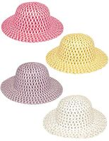 Childrens Easter Bonnet Straw Hat To Decorate With Chicks & Eggs Parades 06288