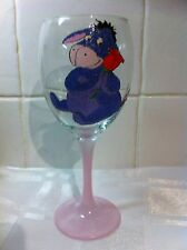 HAND Painted Winnie the pooh personaggio EEYORE Asino Lavabile Bere Bicchiere UK