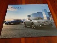 Honda Accord Saloon & Tourer range brochure Feb 2012