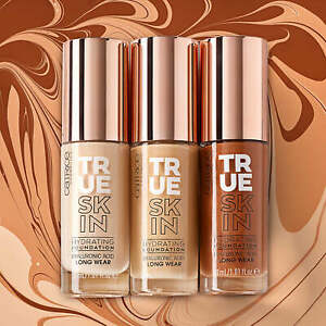 Catrice True Skin Hydrating Foundation Naturally Matte Finish with Hyaluronic