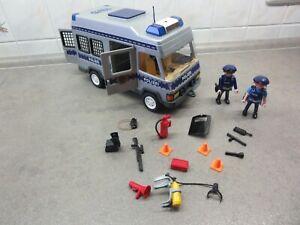 PLAYMOBIL 4022 - Polizei Mannschaftswagen Gefangenentransporter