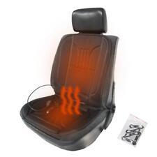 Schwarz Beheizbare Sitzauflage Sitzheizung Heizkissen 45W 12V für Citroen Fiat
