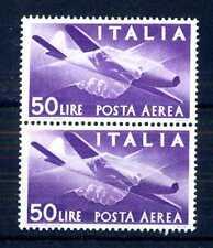 """ITALIA REP. - PA - 1947 - Serie """"Democratica"""" - Filigr. Ruota  - 50 L. - X109"""