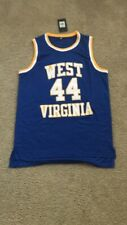 a9a1325b622 Mens Large Vintage Jerry West West Virginia Mountaineers NCAA Basketball  Jersey