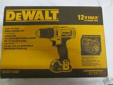 """DeWalt DCD710S2 3/8"""" Drill/Driver Kit - includes charger + batteries Brand New"""