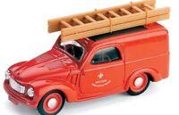 BRUMM R45 R46 R80 FIAT 500 FURGONCINO model vans TELEPHONE / FIRE SERVICE 1:43rd