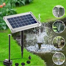 3.5w 380 L/h Solar Power Outdoor Fountain Water Pump with 4 Fountain Heads
